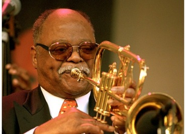 Clark Terry does it upside-down.credit:  p.korbut7@gmail.com