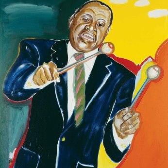 Lionel Hampton graces the 2013 Jazz Appreciation Month poster